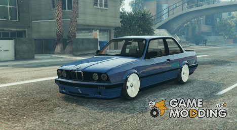 BMW E30 M-Tech 2 BETA для GTA 5