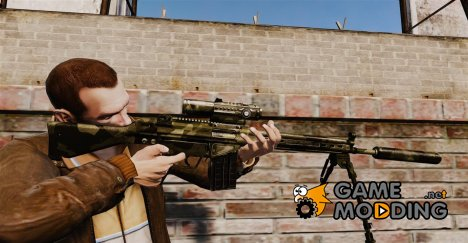 Снайперская винтовка HK G3SG1 v2 for GTA 4