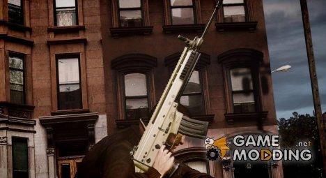 Scar-L для GTA 4