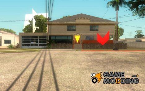 Новый дом у Карла для GTA San Andreas