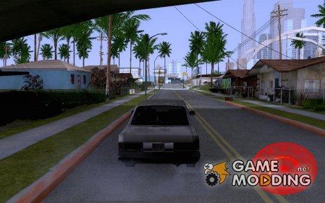 Красный спидометр для GTA San Andreas