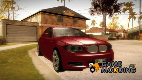 BMW 135i 2009 for GTA San Andreas