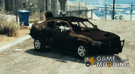 Dodge Charger Apocalypse (2 door) для GTA 5
