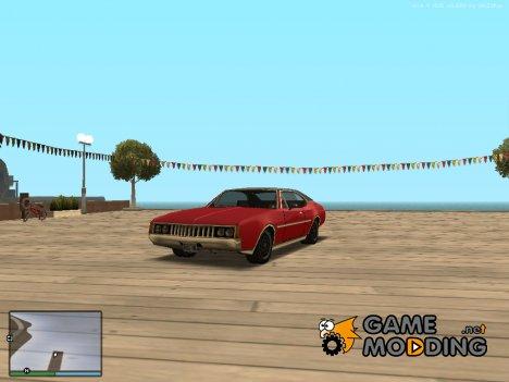 Стандартный clover адаптированный под Improved Vehicle Features для GTA San Andreas