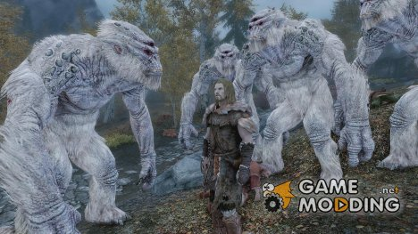 Bigger trolls for TES V Skyrim