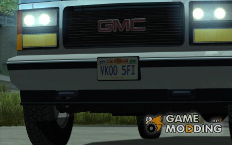 Real 90s License Plates v2.0 IMPROVED (30.09.2016) для GTA San Andreas