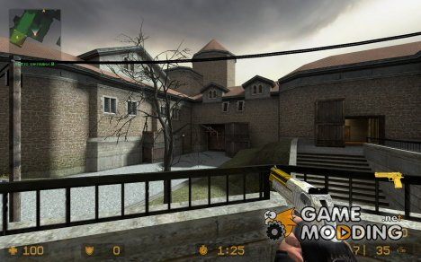gold and chrome deagle для Counter-Strike Source