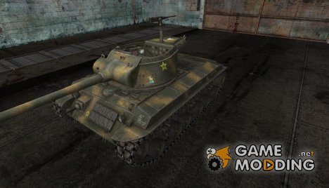 Шкурка для T25/2 Forest для World of Tanks