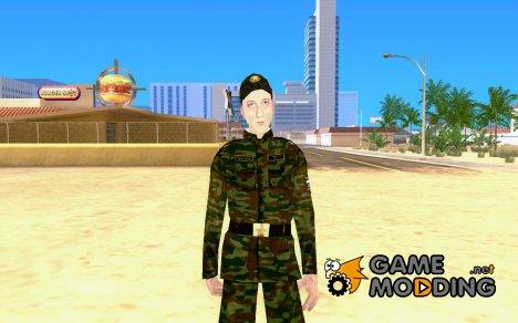 Солдат российской армии for GTA San Andreas