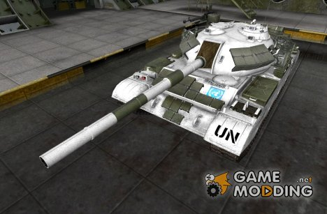 Ремоделинг со шкуркой Type 59 for World of Tanks