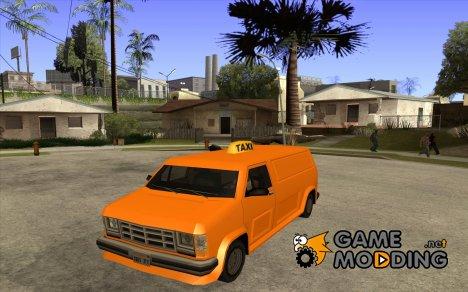 Taxi Burrito для GTA San Andreas
