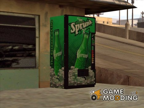 Vending Machine (Sprunk and CandyBox) for GTA San Andreas