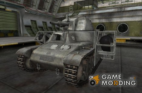 Ремоделинг для PzKpfw 38H735(f) для World of Tanks