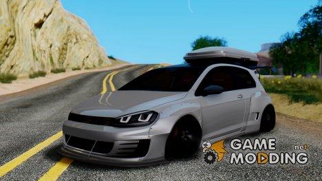 Volkswagen Golf R Pandem Rocket Bunny для GTA San Andreas