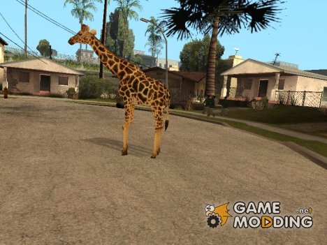 Giraffe for GTA San Andreas