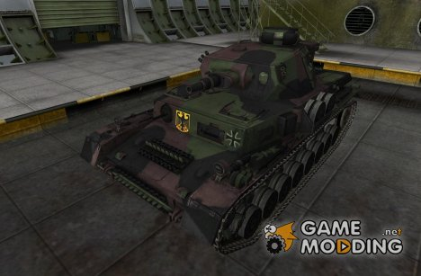 Шкурка для Pz IV Ausf GH for World of Tanks