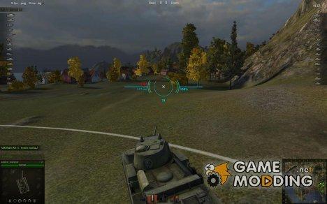 Аркадный и Снайперский прицелы WoT для World of Tanks
