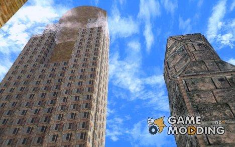 Новые текстуры небоскрёбов LS for GTA San Andreas