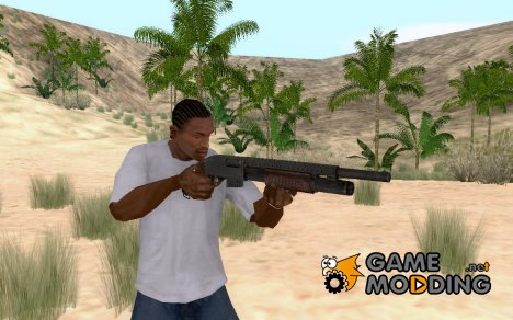 Pump-Action Shotgun from Resident evil для GTA San Andreas
