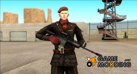 Metal Gear Solid 3 для GTA San Andreas