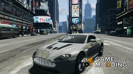 Aston Martin V12 Vantage 2010 for GTA 4