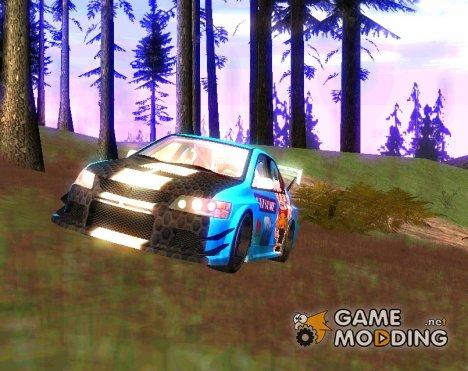 Mitsubishi Lancer Evo IX Anime for GTA San Andreas