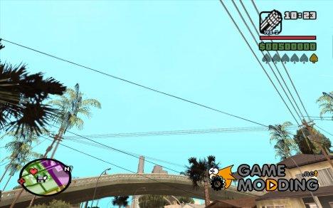 Новые звезды для худа №11 для GTA San Andreas