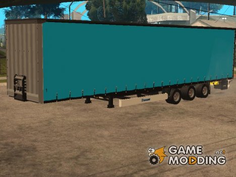 Volvo FH12 Low Deck Trailer для GTA San Andreas