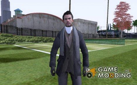 Modern Warfare 4 Mod - Макаров с гипсом на шее для GTA San Andreas