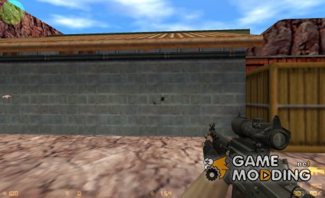 SG556 on Valve Anims для Counter-Strike 1.6