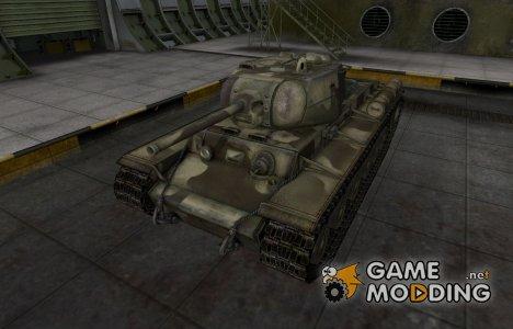 Пустынный скин для КВ-1С для World of Tanks
