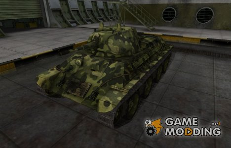 Скин для А-20 с камуфляжем для World of Tanks