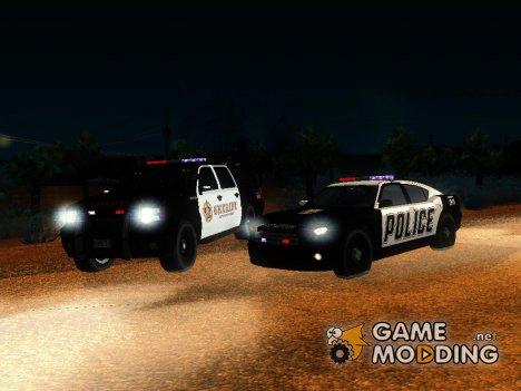 Пак спецслужбы для GTA San Andreas