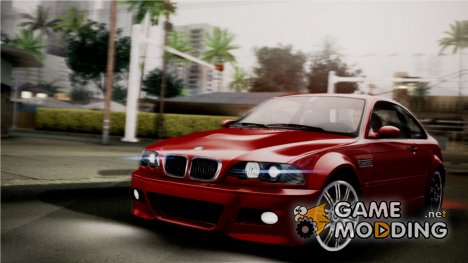 BMW M3 E46 v.2 for GTA San Andreas