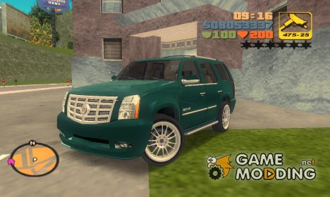 "Cadillac Escalade ""TT Black Revel"" для GTA 3"