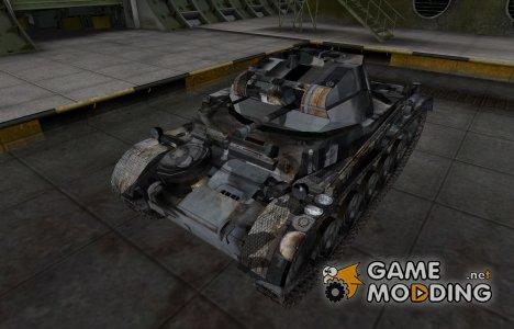 Шкурка для немецкого танка PzKpfw II для World of Tanks
