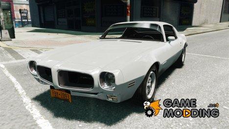 Pontiac Firebird 1970 for GTA 4