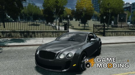 Bentley Continental SS 2010 Suitcase Croco для GTA 4