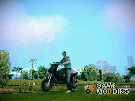 Новый скутер for GTA Vice City