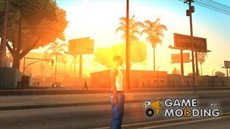 Солнце из PS2 for GTA San Andreas