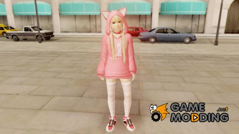 Dead Or ALive 5 LR Marie Rose Newcomer Set for GTA San Andreas