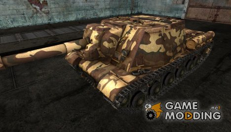 Шкурка для ИСУ-152 для World of Tanks