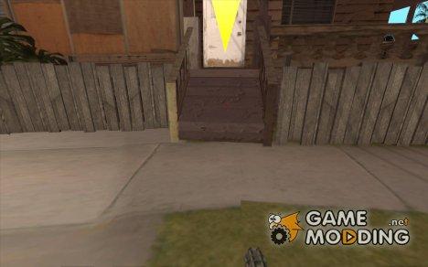 Новый прицел for GTA San Andreas