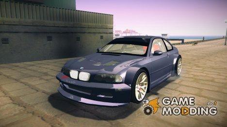 BMW M3 E46 GTR V2 for GTA San Andreas
