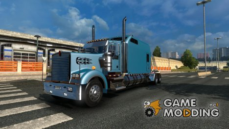 Kenworth W900B Long Edition for Euro Truck Simulator 2