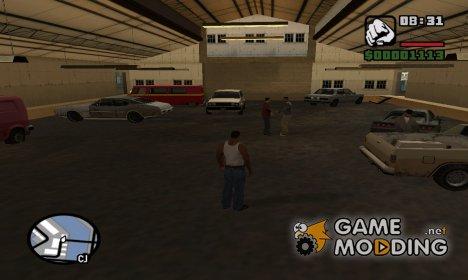 Автосервис в доках for GTA San Andreas