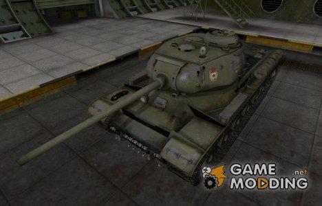 Скин с надписью для ИС для World of Tanks