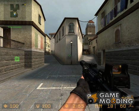 M4A1 из COD для Counter-Strike Source