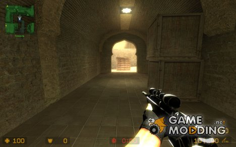 BlackWhite Scout for Counter-Strike Source