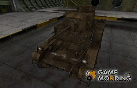 Скин в стиле C&C GDI для M3 Stuart для World of Tanks